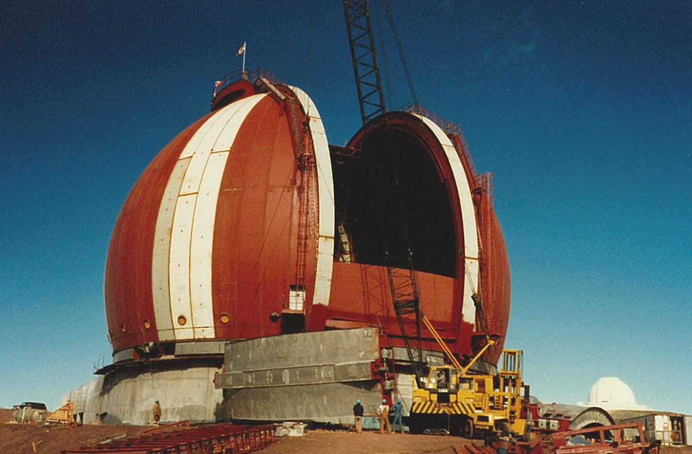 Maunakea Summit W M Keck Observatory