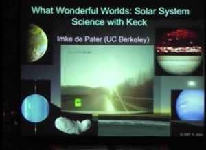 Evenings with Astronomers: What Wonderful Worlds — Solar