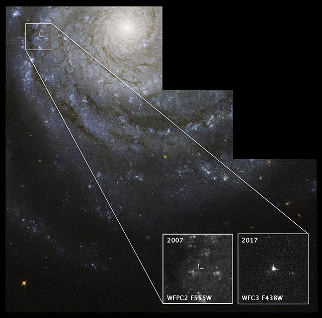 Supernova SN 2017ein